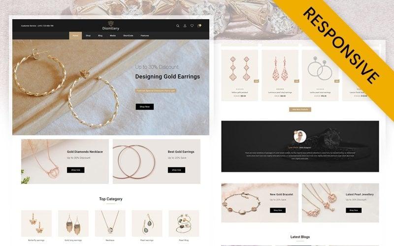 Diamllery - Jewelry Store WooCommerce Responsive Theme