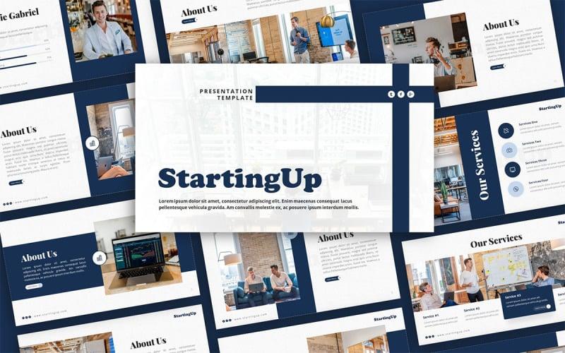 StartingUp Startup Presentation Template
