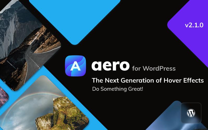 Aero for WordPress - Image Hover Effects WordPress Plugin