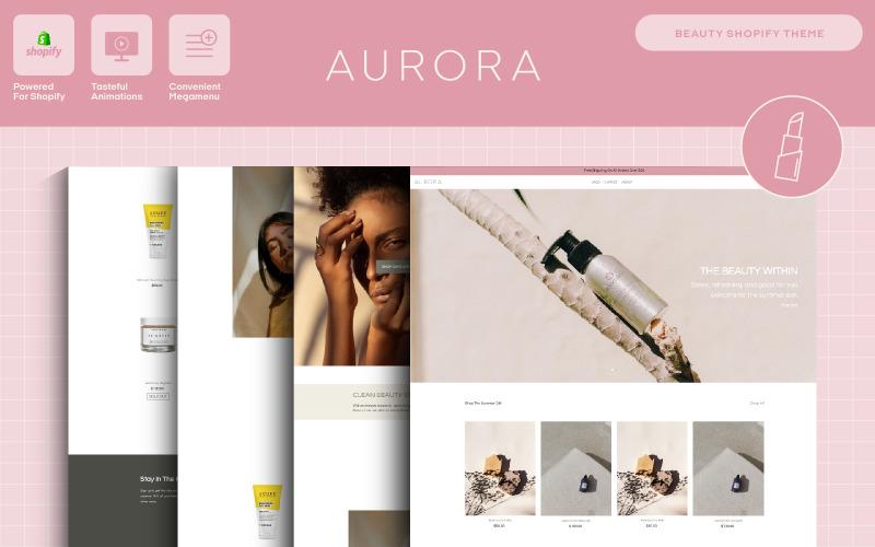 Aurora — motyw Shopify Beauty