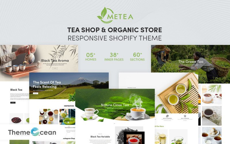 Metea - Tea Shop & Organic Store Responsive Shopify Theme
