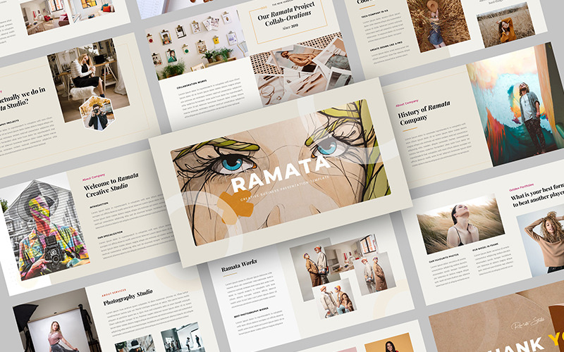 Ramata – Creative Business PowerPoint Template