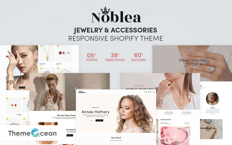 Noblea - Jewelry And Accessories Responsive Shopify Theme