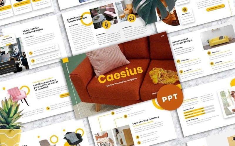 Caesius  - Furniture Powerpoint