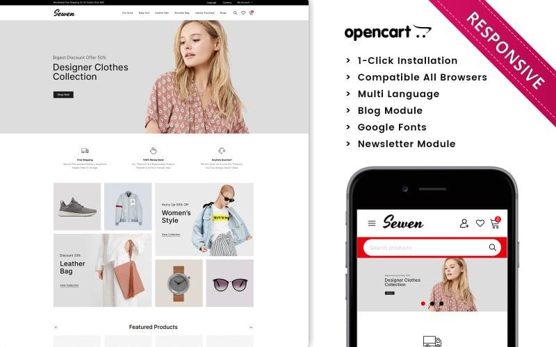 Sewen - The Mega Fashion Store Opencart Theme