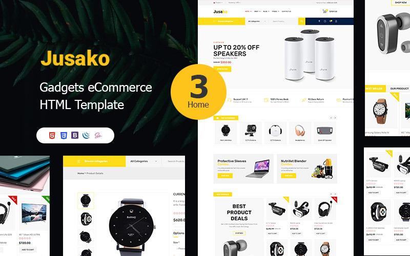 Jusako - Gadgets eCommerce HTML5 Template