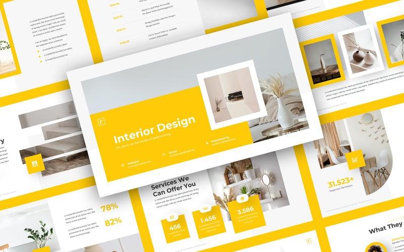 Ratio - Interior Design PowerPoint Template