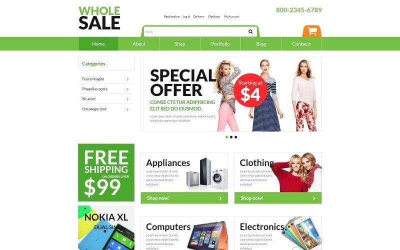 Free Online Wholesaling Business WooCommerce Theme