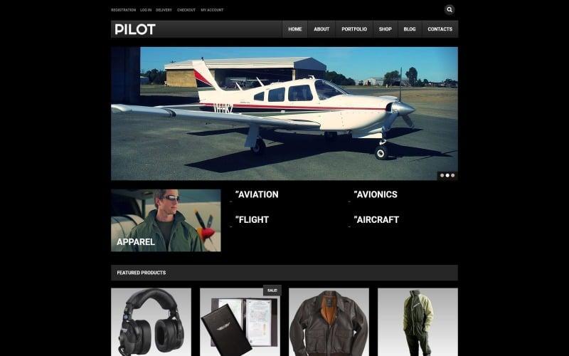 Free Pilot Shop WooCommerce Theme