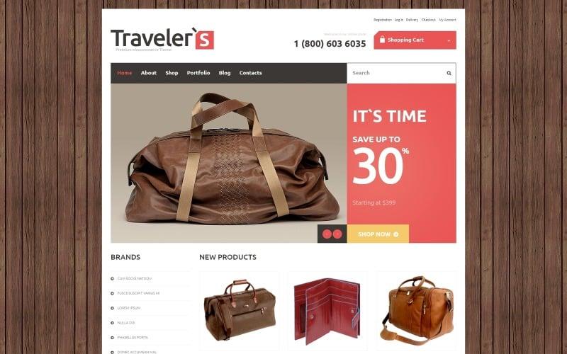 Free Travel Store Responsive WooCommerce Theme