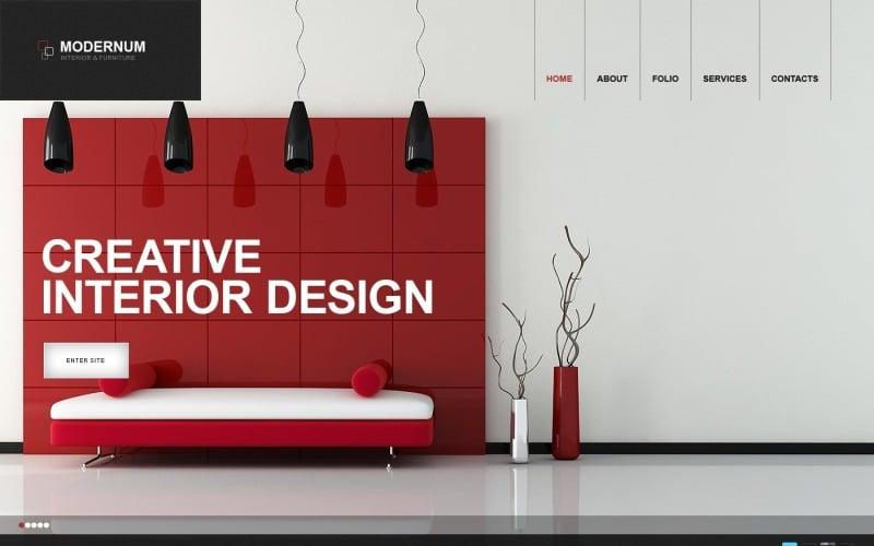 Free Interior Design & Decor WordPress Website Theme