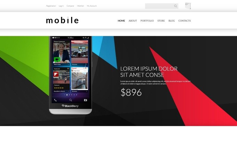 Free Mobile Gear Store WooCommerce Theme