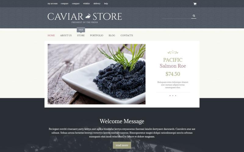 Tema Caviar Delicacy WooCommerce grátis