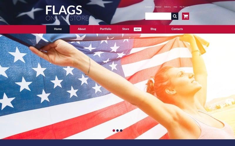 Tema WooCommerce para tienda de banderas gratis