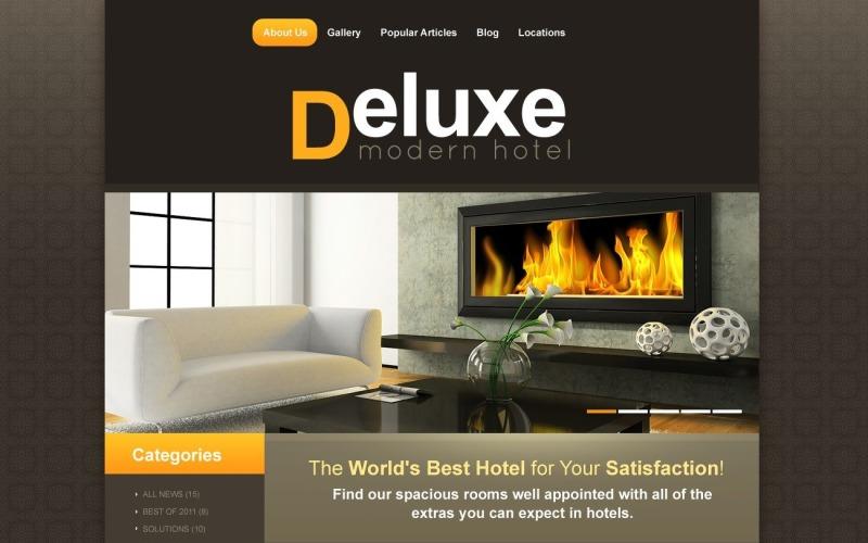 Ücretsiz Otel ve Tatil Köyü WordPress Teması