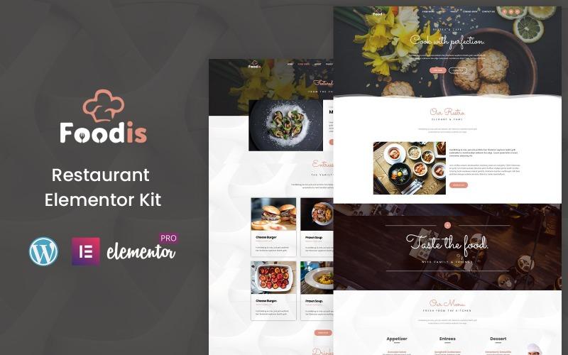 Foodis - Reataurant Ready to Use Elementor Kit