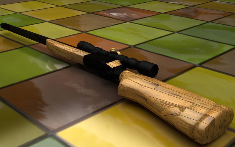 RifleMe - 3D Low Poly Rifle Gun