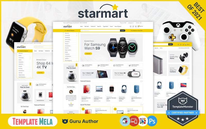 Starmart - 电子商店 Prestashop 主题