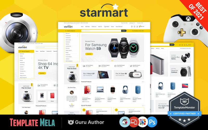 Starmart - Тема Prestashop для магазина электроники