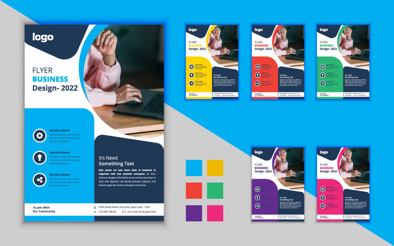 Creative Business Flyer Design.