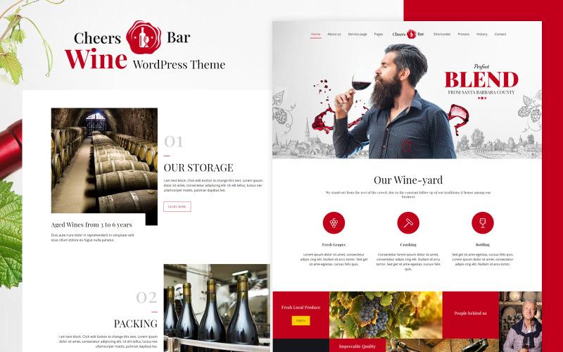 Cheers Bar – Bar WordPress tema