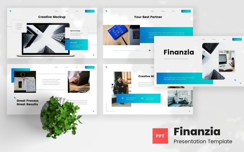 Finanzia - Investment & Finance PowerPoint Template