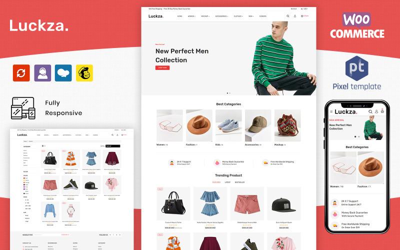 Luckza - Tema de moda multipropósito de WooCommarce