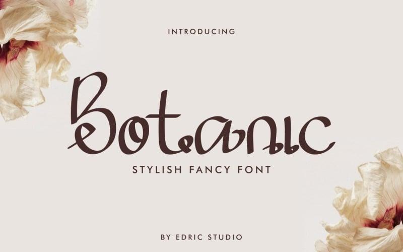 Botanic Fancy Script Font
