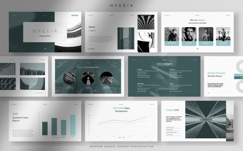 Hygeia - Tranquil Modern Annual Report Presentation