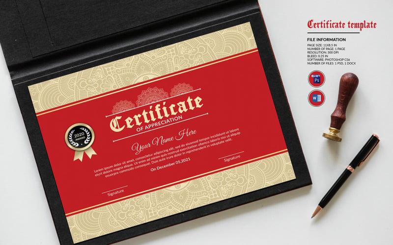 Multipurpose Appreciation Certificate Template