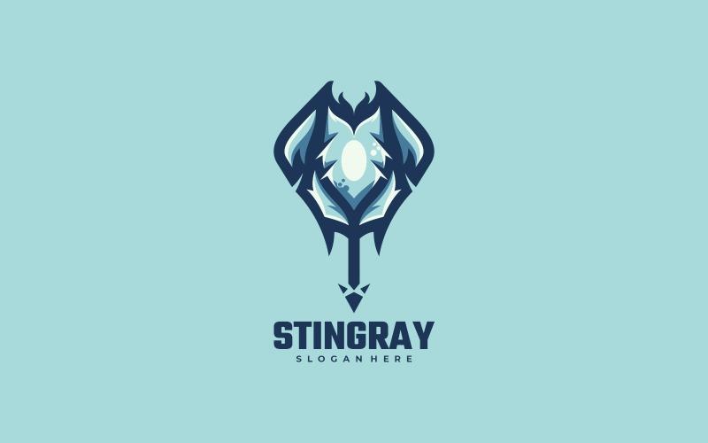 Stingray Simple Mascot Logo