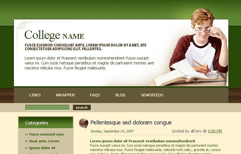 University WordPress Theme