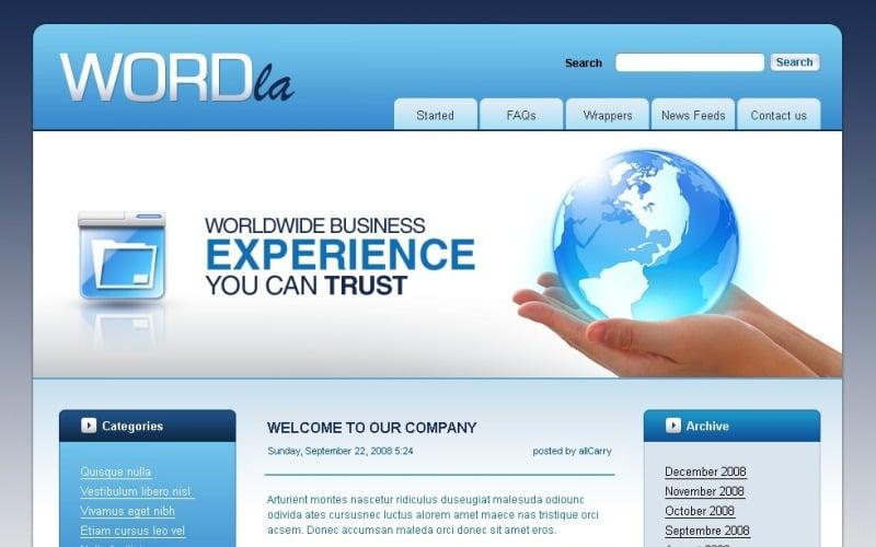 Тема WordPress для бизнеса и услуг