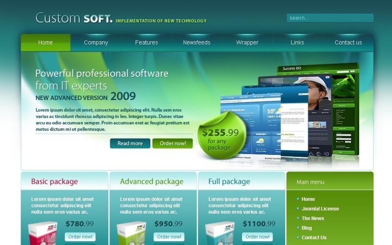 Software Company Joomla Template