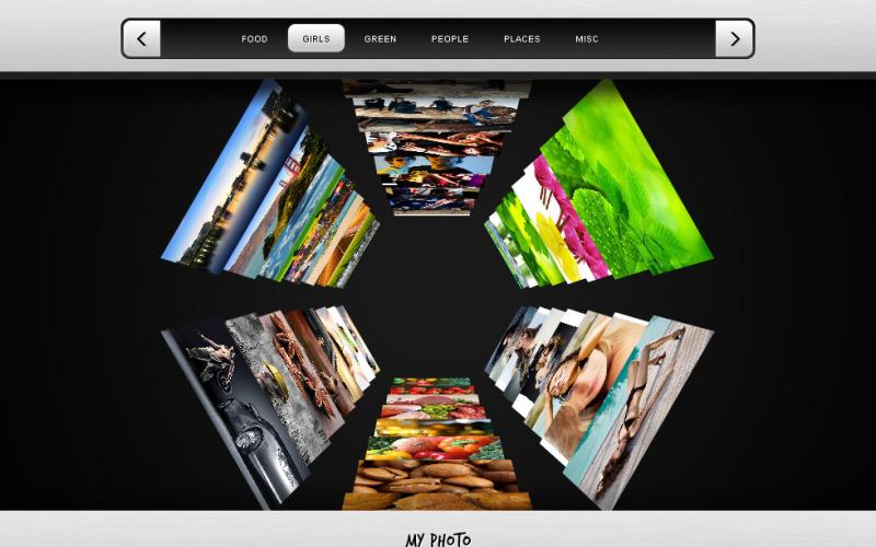 Photographer Portfolio Flash CMS Template