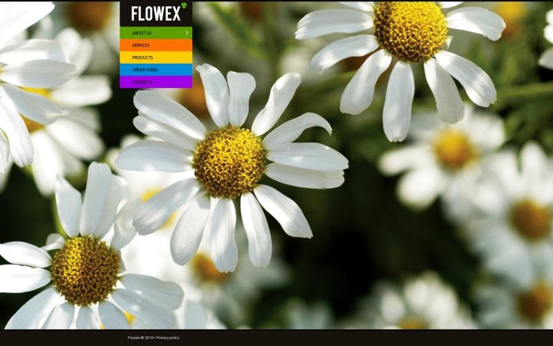 Modello di fiori Joomla