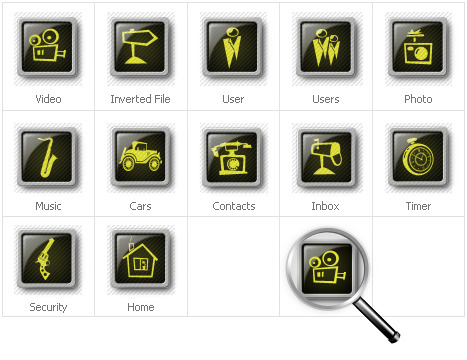 Set di icone neutre
