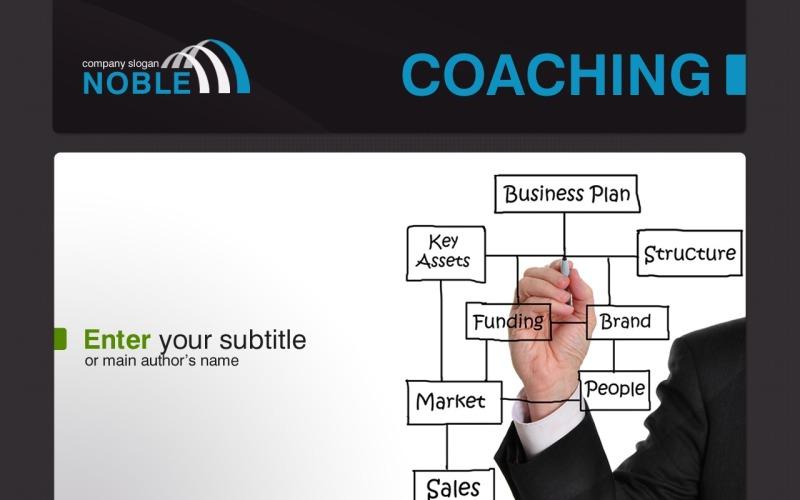 Plantilla de PowerPoint - escuela de negocios