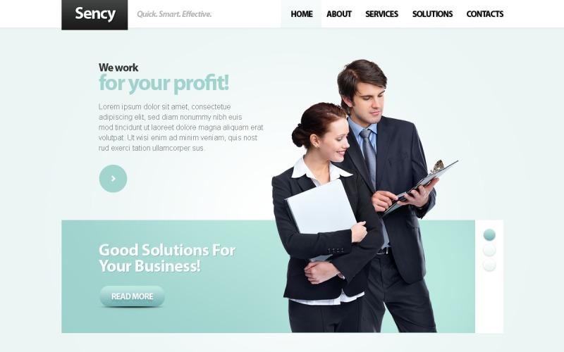 Business & Services Joomla Template