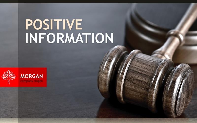Szablon programu PowerPoint prawnik