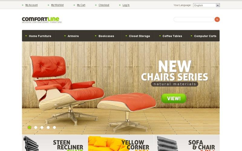 Тема Magento для меблів