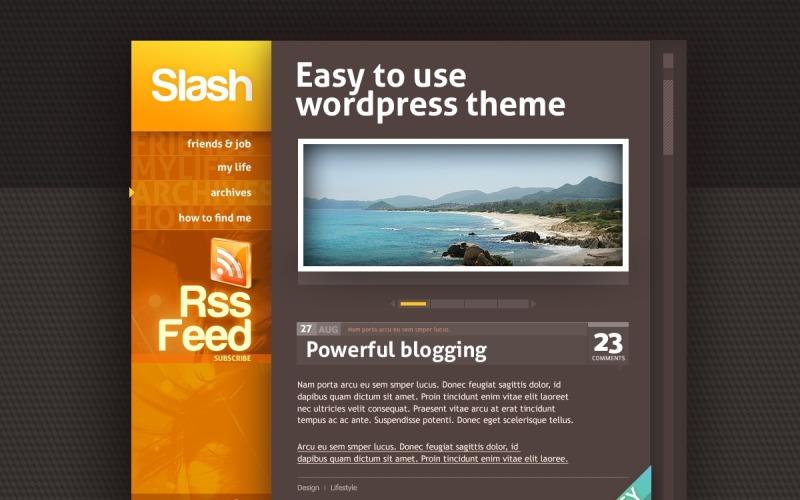 Personal Page WordPress Theme