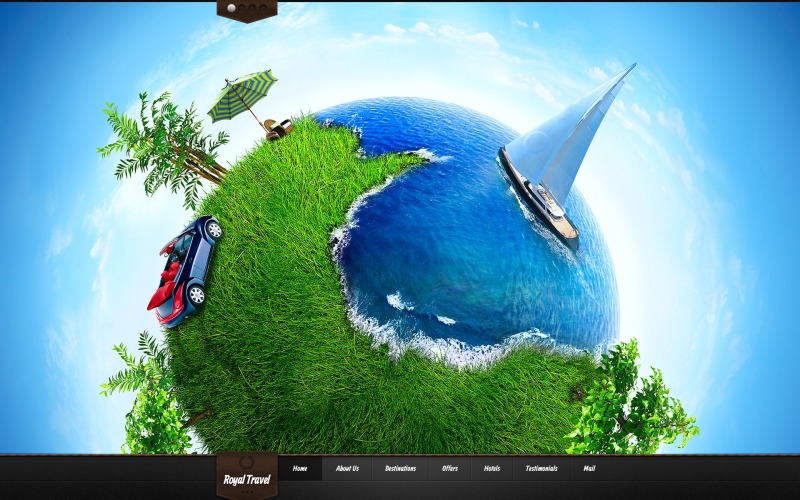 Travel Agency WordPress Theme