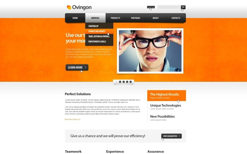 Consulting Drupal Template