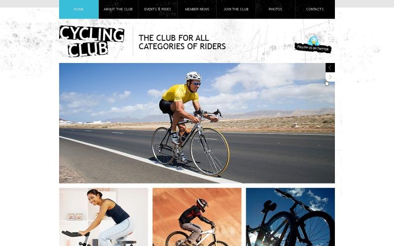 Motyw WordPress na rowerze