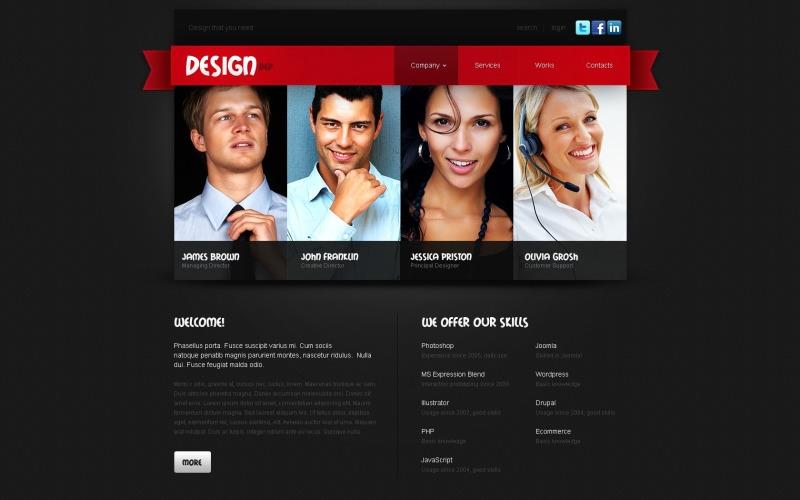 Motyw Design Studio WordPress