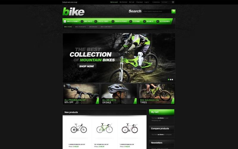 BMX Magento Theme