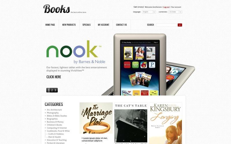 The Manuscript Book Store PrestaShop Theme