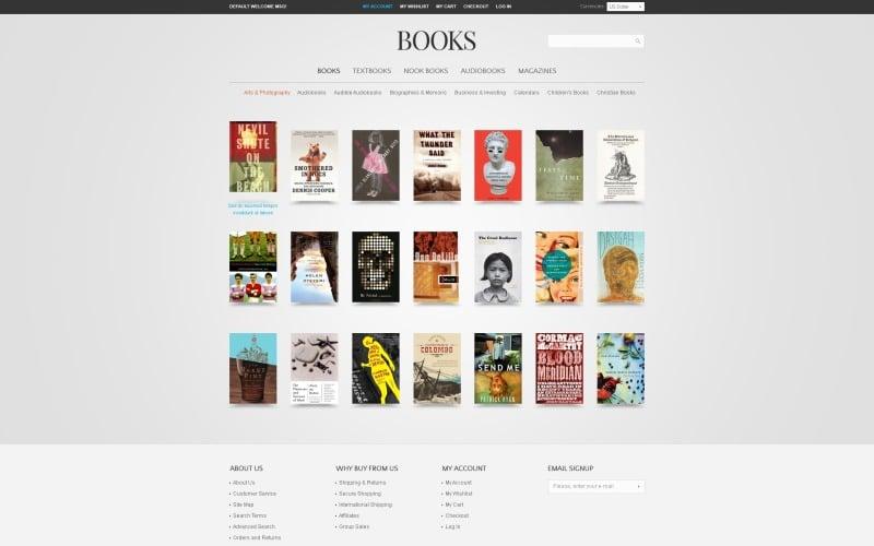 Books Magento Theme