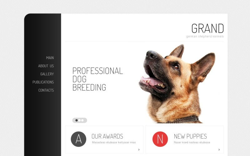 Dog Drupal Template
